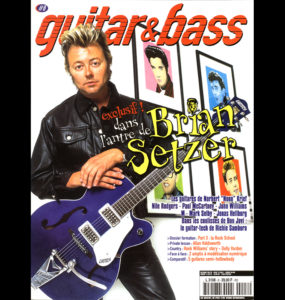 BRIAN SETZER - GUITAR & BASS FRANCE-B
