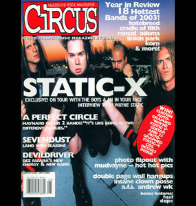 STATIC-X - CIRCUS COVER-s