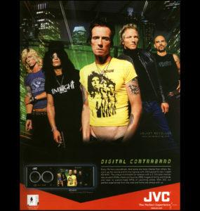 Velvet Revolver JVC Ad